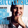 Le prince William en couverture d'un magazine gay