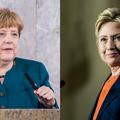 Angela Merkel et Hillary Clinton sont les femmes les plus puissantes de la planète