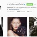 Carla Bruni-Sarkozy sur Instagram : l'été de ses 24 ans en images