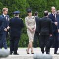 La famille royale britannique émue lors des commémorations de la Bataille de la Somme