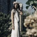 Robe de mariée : esprit bucolique chez Laure de Sagazan