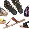 Sandales, espadrilles... place aux chaussures parfaites pour la plage