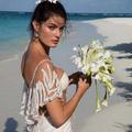 Isabeli Fontana : son mariage en robe transparente