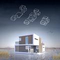 """Un architecte a conçu une """"maison du divorce"""" pleine de promesses"""
