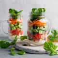 Salade en bocal : mode d'emploi