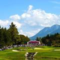 Golf : coup d'envoi de l'Evian Championship, tournoi de la rentrée