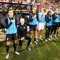 Megan Rapinoe, la footballeuse qui boycotte (aussi) l'hymne américain