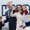 Kate et William au Canada, George et Charlotte sous les flashs