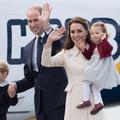 Kate et William au Canada, George et Charlotte sous les flashs