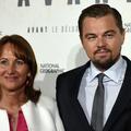 Leonardo DiCaprio, Ségolène Royal et Anne Hidalgo à Châtelet hier soir