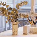 Comment personnaliser un vase en porcelaine blanche