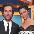 Matthew McConaughey présente ses trois enfants, ravissants, sur le tapis rouge