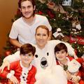 La photo rare (et féérique) de Céline Dion avec ses fils pour Noël