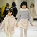 Bonpoint : les enfants défilent comme des grands pour l'hiver 2017