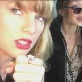 Taylor Swift chante en playback dans sa voiture