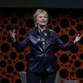 Hillary Clinton fustige le manque de femmes à la Maison-Blanche