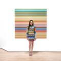 Elle accorde ses robes avec des œuvres d'art sur Instagram