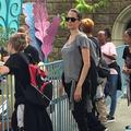 Angelina Jolie et tous ses enfants à Disneyland pour l'anniversaire de Shiloh