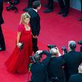 Retour sur... Quand Laura Tenoudji, enceinte, et son mari Christian Estrosi montaient les marches à Cannes
