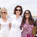 "Salma Hayek, Isabelle Huppert et 70 femmes pour un déjeuner ""Madame Figaro"" et Women in Motion"