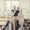 Johanna Senyk et Geoffroy de la Bourdonnaye, retour sur un an de mentorat créatif