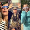 Lumière sur les stars pendant l'éclipse solaire aux États-Unis