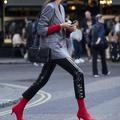 La chaussure colorée, l'arme secrète des modeuses à Londres