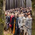Chanel transforme le Grand Palais en forêt automnale