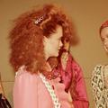 Le retour des barrettes dans les cheveux des mariées