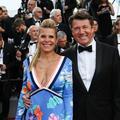 Le coup de sang de Laura Tenoudji à Cannes en réaction aux critiques sur son physique