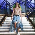 Lourdes Leon s'offre une apparition sur les podiums new-yorkais