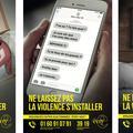 """""""C'est quoi ces chaussures de p*** !"""": à Évry, une campagne choc contre les violences conjugales"""