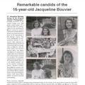 Des photos inédites de Jackie Kennedy à 16 ans vendues aux enchères