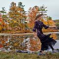 Carreaux, motifs fleuris, superpositions... Les incontournables de l'automne