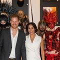 Les dernières photos de Meghan et Harry en Océanie : salut Mahori, lancer de bottes et costumes d'Halloween