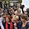 Colère et émotion pour les centaines de femmes réunies contre les violences conjugales