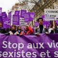 #NousToutes à Paris : une marée violette contre les violences sexistes et sexuelles