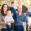 """""""Une famille parfaite"""", la photo de Noël de Kate, William et leurs trois enfants"""