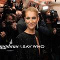 Au premier rang du défilé Alexandre Vauthier couture avec Céline Dion