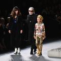 La garde rapprochée de Karl Lagerfeld