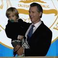 Un élu américain surpris en plein discours par son intrépide petit garçon
