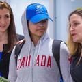 """""""Très heureuse"""", Rahaf Mohammed al-Qunun, la Saoudienne qui a fui son pays, est arrivée au Canada"""