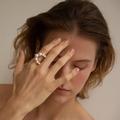 Et si la bague de fiançailles en perle détrônait le solitaire en diamant ?