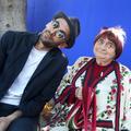 """JR : """"Avec Agnès Varda, on s'est tout de suite plu"""""""