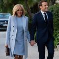 Brigitte Macron met sa garde-robe aux couleurs du printemps
