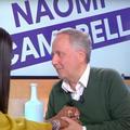 """""""Je suis bouleversé de vous avoir rencontrée"""" : Fabrice Luchini dans tous ses états face à Naomi Campbell"""