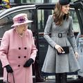 Ce geste d'Elizabeth II qui distingue Kate Middleton
