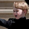 Des photos inhabituelles du prince George en jean et baskets noirs