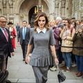 Rania de Jordanie ose le cuir face à Brigitte Macron à Paris