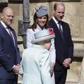 La reine Elizabeth II fête ses 93 ans, entourée de ses petits-fils et de Kate Middleton